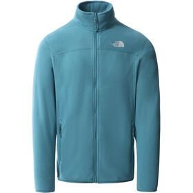 The North Face 100 Glacier Full Zip Jacket Men storm blue